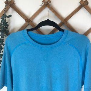 lululemon athletica Shirts - Lululemon Men's Metal Vent Tech Tee Shirt Large